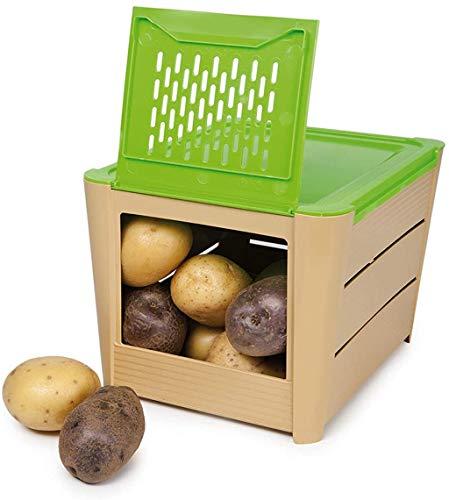 Snips PORTAPATATE 3 kg Marrone - Contenitore Porta Patate, Cipolle & Verdure