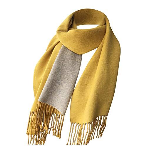 Xinitan1 Women's Fashion Scarves Long Shawl Winter Thick Warm Knit Large Double Sided Lattice Scarf Oversized Winter/Fall Warm Scarf