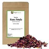 Red Rose Petals, Dried | Culinary Grade A | Egyptian fields in Faiyum | 4 Ounces (Quarter Pound)