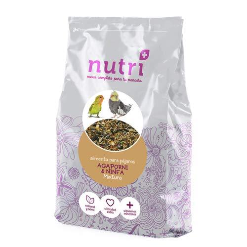 Nutriplus Bolsa MIXTURA NINFA AGAPORNI 1 KG. Aprox