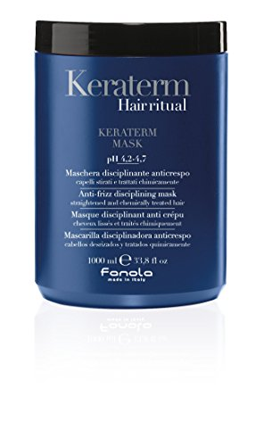 Fanola Hair ritual Keraterm Mask pH 4,2-4,7 Anti-Frizz disciplining mask, 1000 ml
