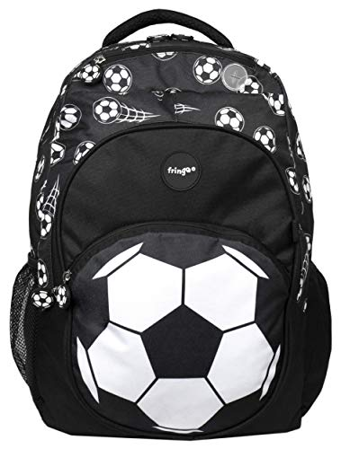 "Fringoo - Grand sac à dos isotherme enfant style ""Football"""