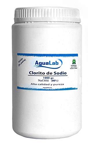 Clorito sódico en polvo al 80%