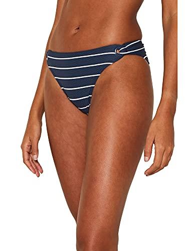 ESPRIT Damen Nelly Beach h.Mini Bikinihose, 405/DARK Blue, 38