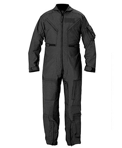 Propper CWU 27/P Nomex Flight Suit, Black, 46 Regular