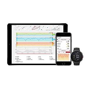 Polar Vantage V - Reloj Premium con GPS y Frecuencia Cardíaca, Multideporte y Perfil de Triatlón, Potencia de Running, Batería Ultra Larga, Resistente al Agua, Negro, M/L (155 - 210 mm)
