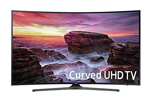 Samsung Electronics UN65MU6500 Curved 65-Inch 4K Ultra HD Smart LED TV (2017 Model) (Renewed)
