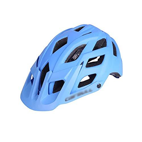 SHGK Casco Integralmente Moldeado 22 respiraderos Casco de Ciclismo con Visera 55-61...