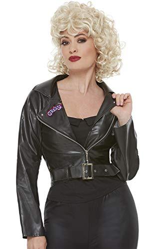 Smiffys Damen Jacke Schwarz XL - UK Size 20-22