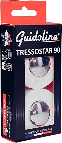 Velox GUIDOLINE® TRESSOSTAR 90 Blanc - Blanc, La paire