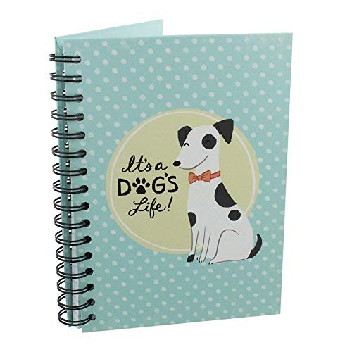 Il s'agit d'un chien Vie Spiral Notepad pour femme Cadeau