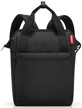 reisenthel Allrounder R Backpack Secure Zipper Two-Way Carry Handles Black