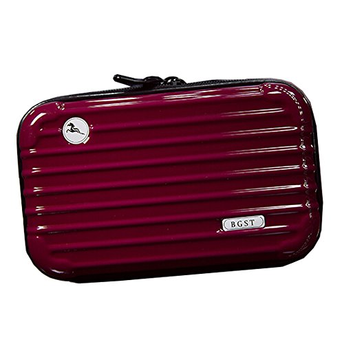 Waterproof Maquillage Sacs Maquillage Pochettes Sac Voyage Cosmetic, Rouge