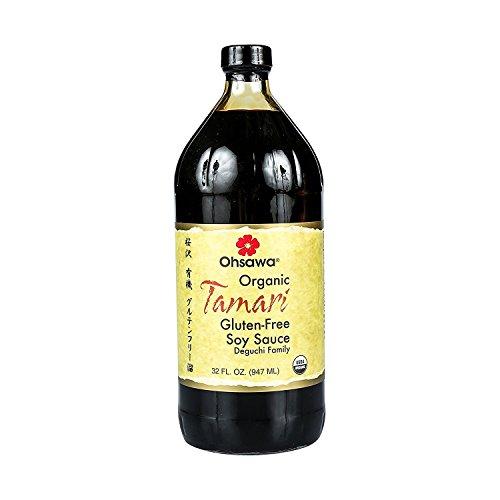 Ohsawa Organic Wheat-FreeTamari Soy Sauce, 32 Fl Oz