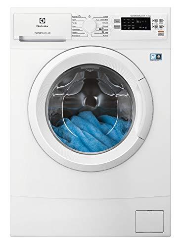 Electrolux EW6S526W - Lavadora estrecha PerfectCare 600, 6 kg, 58 dB, 1200 rpm, color blanco