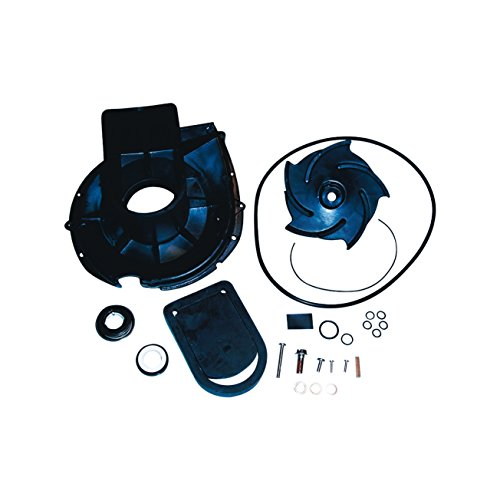 Pacer Pumps 58-702EP-U S Series EPDM Water Pump Rebuild Kit with Volute, Impeller, Seal and Hardware