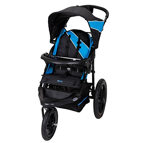 Product Image of the Baby Trend Xcel Jogger Stroller, Mosiac Blue
