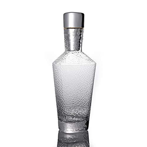 Juego de copas de vino, diseño de martillo triángulo de cristal, regalo novedoso para todas las ocasiones, botella de vino, whisky, cerveza, vino