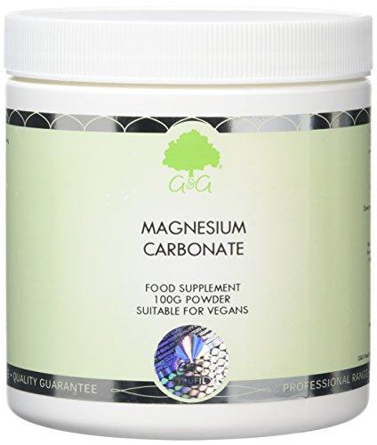 G&G Vitamins Magnesium Carbonate Powder 100g