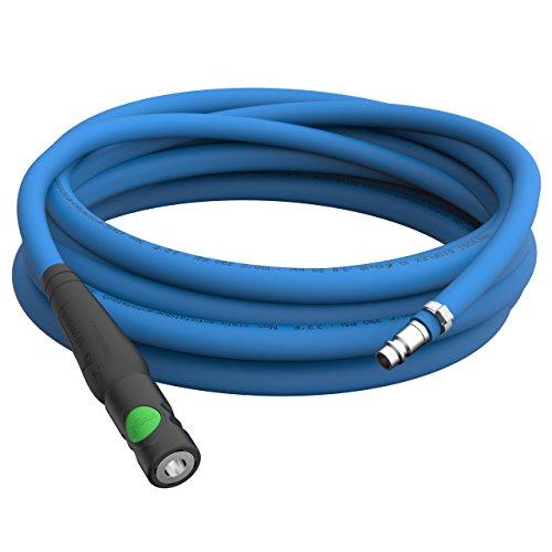 20m Tubo Flessibile Antistatico Ø 10mm Kit di Tubo per Aria Compressa + Raccordo rapido Prevost S1 Protezione + innesto di acciaio inossidabile Tubi per verniciatura fino a 50m selezione: 20m metri