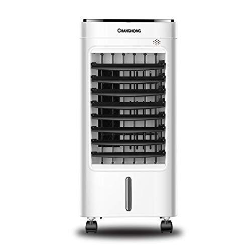 Ventilador de refrigeración Aire acondicionado Aire acondicionado Agua Ventilador de refrigeración Pequeño refrigerador de aire enfriamiento Ventilador sin hojas 60 * 28 * 26 cm Enfriadores evaporativ