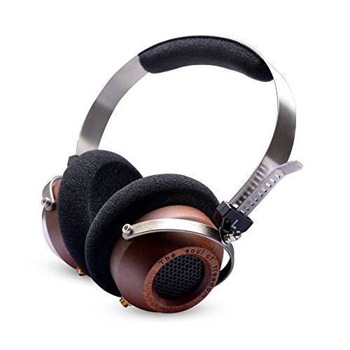 OKCSC M1 DIY Open Voice Over-Ear Headsets Stereo Super Bass Wooden Big...