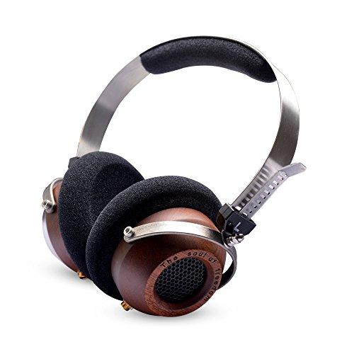 OKCSC(TM) Stereo Super Bass Retro-Vintage Style Noise Isolation Enhanced on-Ear Headphones (Style A)