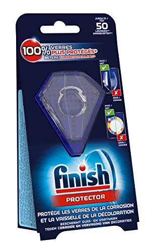 Finish Protector para vajilla y cristal – lavavajillas – 3 unidades
