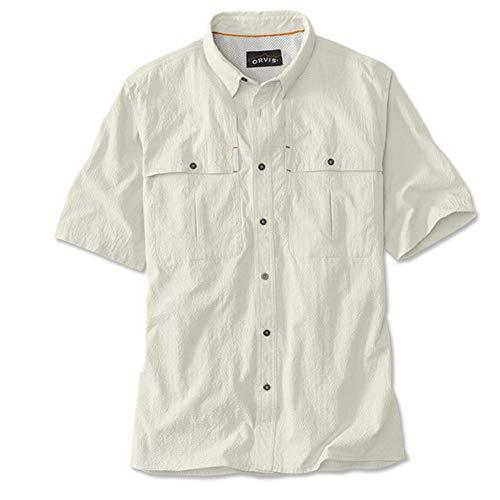 Orvis Short-Sleeved Open-air Caster Caster/Only Short-Sleeved Open-air Caster, White, XL
