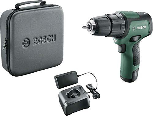 Bosch EasyImpact 12 Taladro percutor a batería (1x batería, sistema de 12 V, en funda blanda)