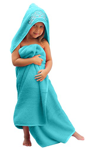 Ultra-Homes Princess Hooded Kid Towel