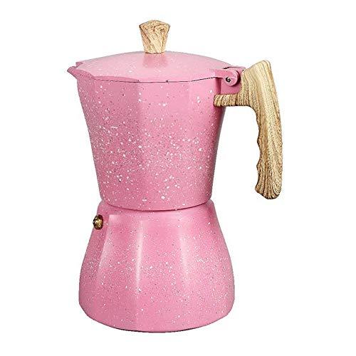 Jaimenalin Stovetop Espresso Maker - Cafetera Moka Pot para Estufa de Gas o EléCtrica - 3 Tazas Espresso Shot Maker para Italiano