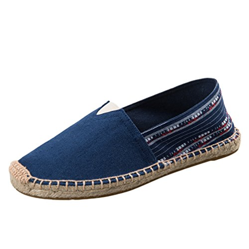Dooxii Unisex Hombre Mujer Amantes Ocasionales Loafer Zapatos Moda Planos Alpargatas
