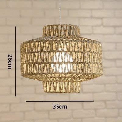 5151BuyWorld Canapa-lamp met touw, natuurlicht, voor slaapkamer, slaapkamer, slaapkamer, slaapkamer, slaapkamer, slaapkamer, slaapkamer, om aan de muur te hangen