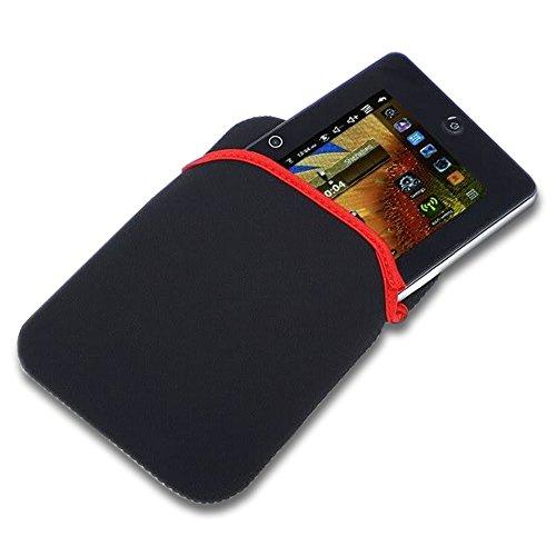 LUPO Universal-Schutz Neopren-Hülle Tasche für alle 10-Zoll-Tablets Apple iPad inkl. 1,2,3,4, Luft, Google Nexus 10, Galaxy Tab 3, Android (Schwarz)