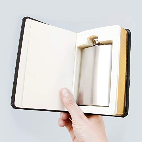 SUCK UK Flachmann im Buch der Bücher - 3