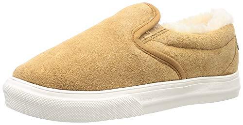 Minnetonka Women's Wilder Suede Slip-On Sneakers