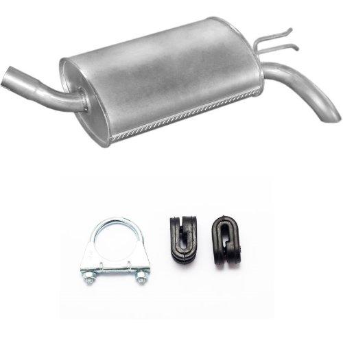 Auspuff Endschalldämpfer Endtopf + Montageware Ersatzteil (siehe Artikelbeschreibung) (passend für das angegebene Fahrzeug ,siehe Artikelbeschreibung)