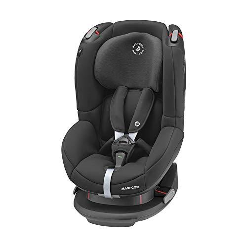 Maxi-Cosi Tobi Kindersitz, mit 5 komfortablen Sitz-und Ruhepositionen, Gruppe 1 Autositz (ca. 9-18 kg), nutzbar ab ca. 9 Monate bis ca. 4 Jahre, Authentic black