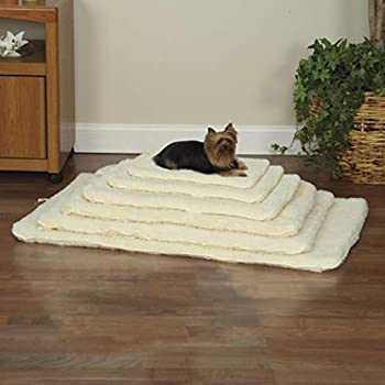 Slumber Pet Double-Sided Sherpa Mats - Versatile and Comfortable Mats for Dogs and Cats - Medium/Large Natural