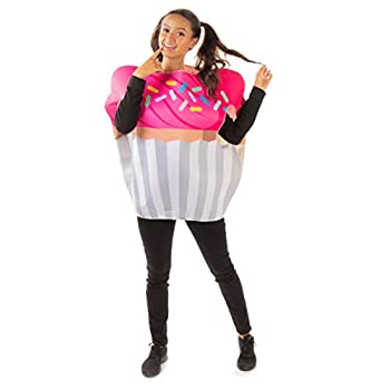 Chocolate Cupcake Halloween Costume - Cute Food Adult One Size Suits for Women