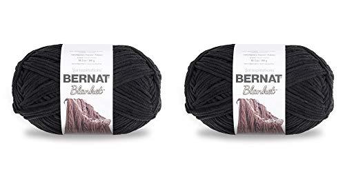 BERNAT Blanket Big Pack of 2 Balls-300g Each Ball-Coal