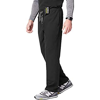 FIGS Pisco Basic Scrub Pants for Men – Black Medium