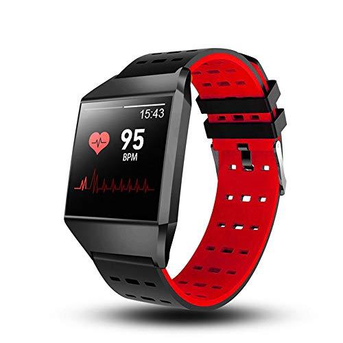 Reloj inteligente rastreadores de actividad física con monitor de frecuencia cardíaca, contador de calorías por pasos, pantalla a color IP67 a prueba de agua de 1.3 ', podómetro para mujeres y hombres