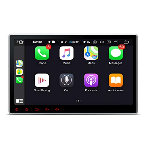 "XTRONS Android 10 Car Stereo Double Din GPS Navigation, 10.1"" Touch Screen Car Radio DVD Player Bluetooth Head Unit Support Split Screen/Android Auto/Built-in Wireless CarAutoPlay, Backup Camera OBD2"