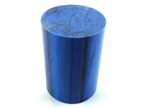 Turners 'Moulin à Cobalt Naturel Polyester Canne à pêche 63,5 x 45 x 45 mm (2,5 x rhodié X rhodié), 6,3 x 4,4 cm