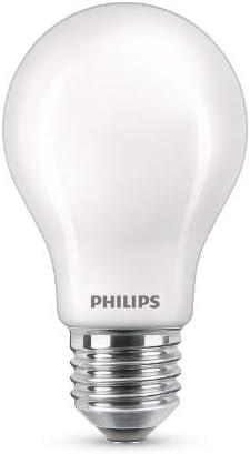 Philips Lighting LEDClassic Bombilla, 60 W, Estándar A60 E27, Mate, Luz Blanca Fría, No Regulable, Pack de 3 Unidades