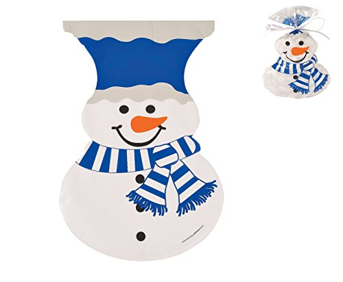 Snowman-Shaped Cellophane Bags ~ Just The Right Size For All Your Party Favors