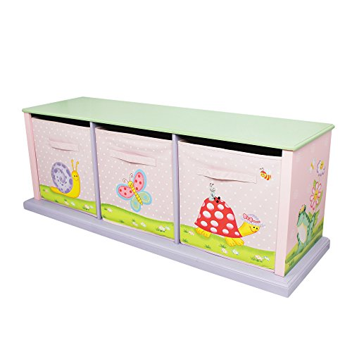 Fantasy Fields by Teamson Magic Garden Collection Cabinet, Rosa