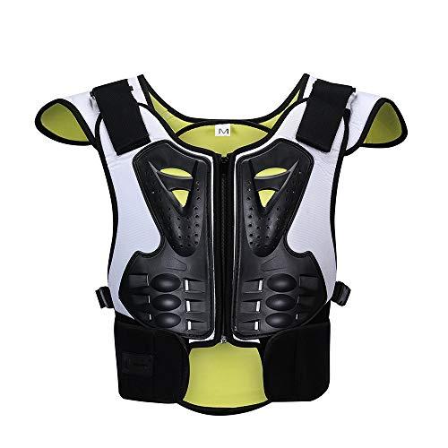 ZzheHou Motorrad-Schutzjacke Anti-Smooth-Ice-Ski-Extremsport-Schutzausrüstung for Kinder Zum Schutz Der Brust Motorrad-Schutzkleidung (Size : M)